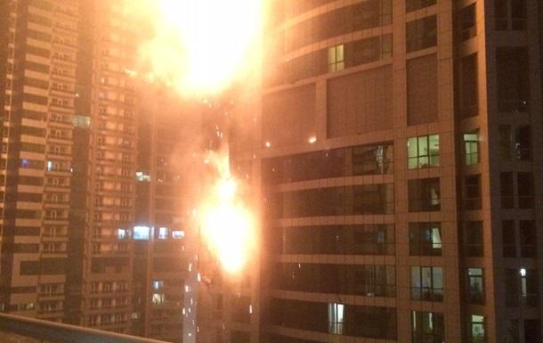 В Дубае произошел пожар в одном из самых высоких жилых домов в мире