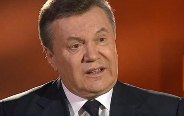 Янукович вважає Європу відповідальною за події в Україні