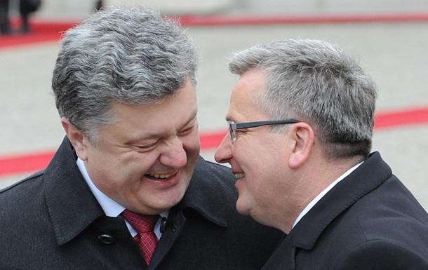 Польша поддерживает идею миротворческой миссии в Украине