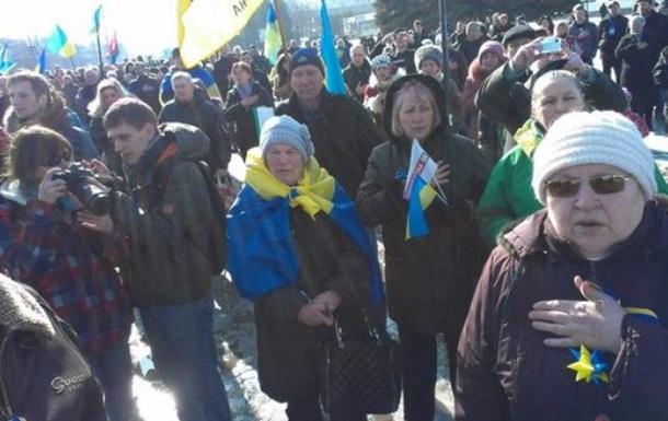 На марше в Харькове произошел взрыв, есть погибшие