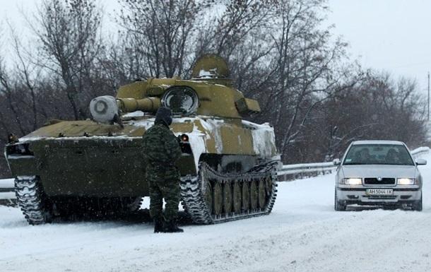 Відведення озброєння і атака на Широкине. Карта АТО за 22 лютого