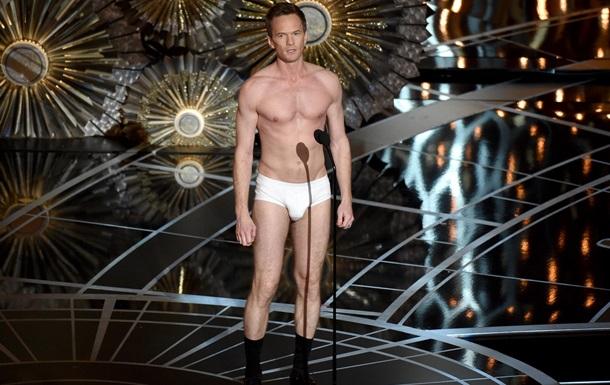 Оскар 2015: Ведучий з явився на сцені в одних трусах