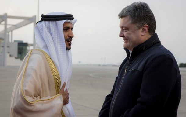 Порошенко рассказал о миллионных военных контрактах с Эмиратами