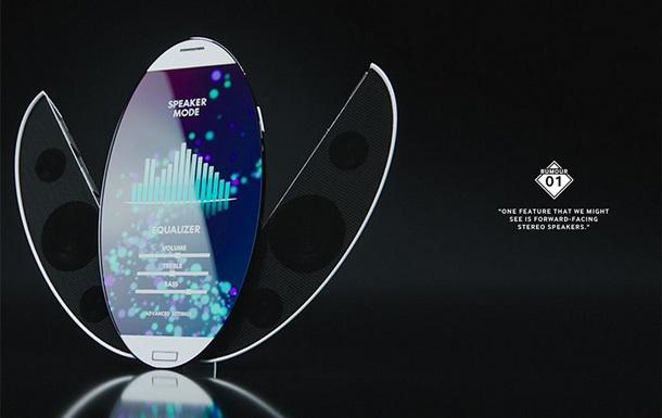 Samsung офіційно показала концепт Galaxy S6