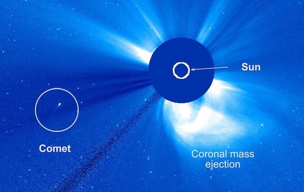 Незвичайна комета спантеличила NASA і ESA