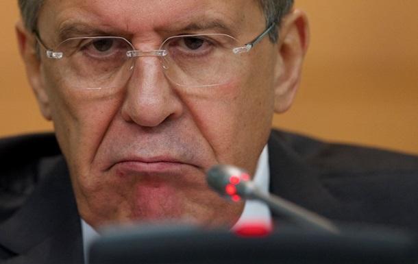 Лавров: Київ висунув нереальні умови для відведення озброєнь