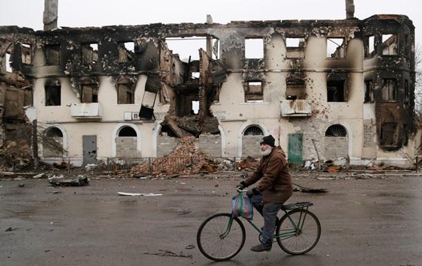 ОБСЕ: В центре Дебальцево разрушены почти все здания