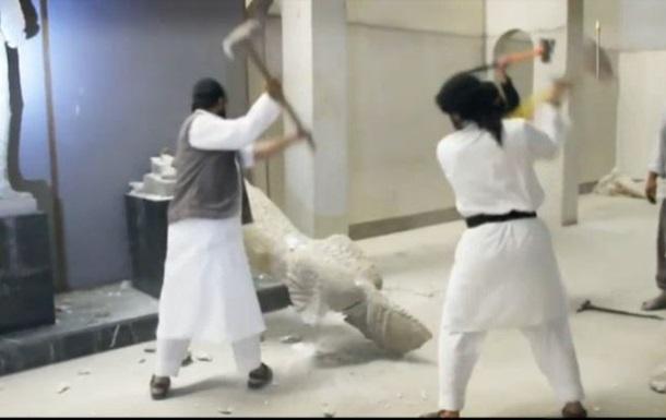 Джихадисты  Исламского государства  уничтожают древности Ирака