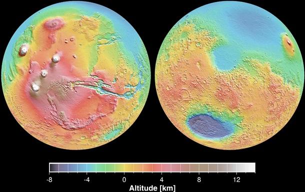 Гігантський астероїд розплавив половину Марса - вчені