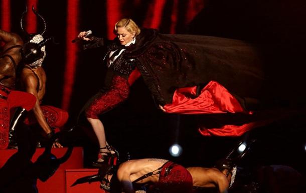 Мадонна рассказала о последствиях падения на Brit Awards