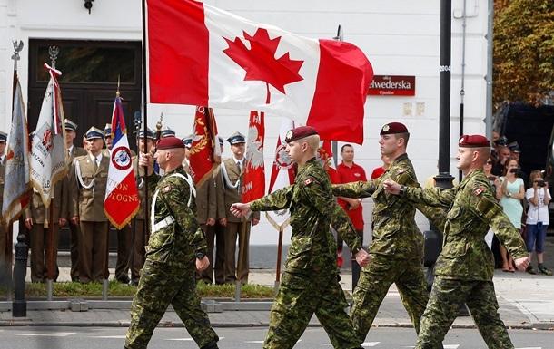 Канада перебросит 125 военных на базы НАТО в Центральной и Восточной Европе