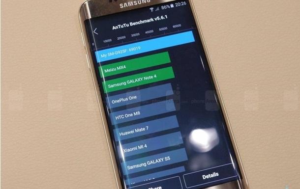 Samsung Galaxy S6 Edge: совершены первые тесты на производительность