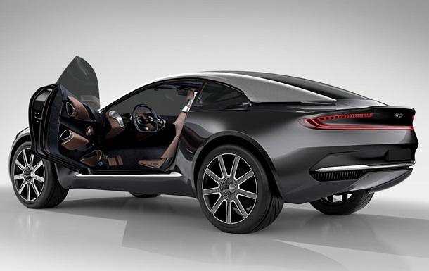 Aston Martin показала концепт першого у своїй історії кросовера