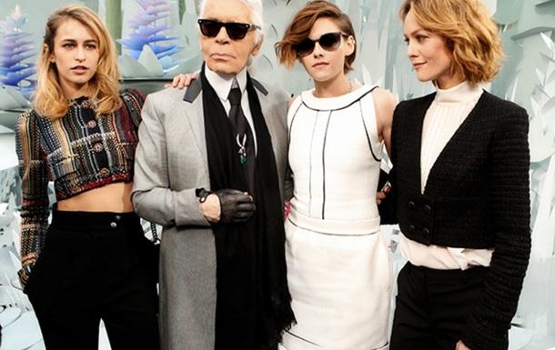 Крістен Стюарт, Еліс Деллал і Ванесса Параді стали музами Chanel