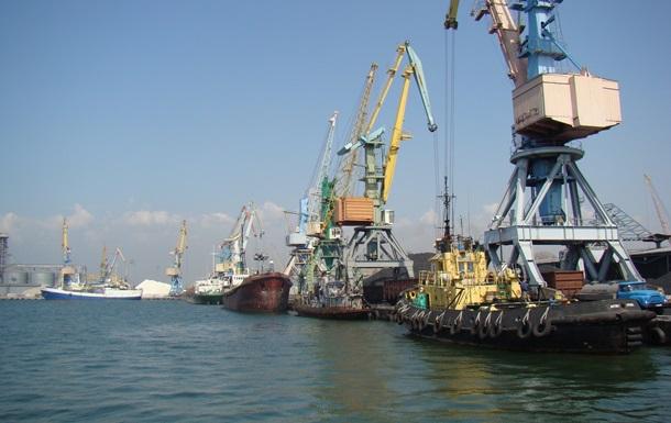Бердянський порт вперше встановив зимовий рекорд