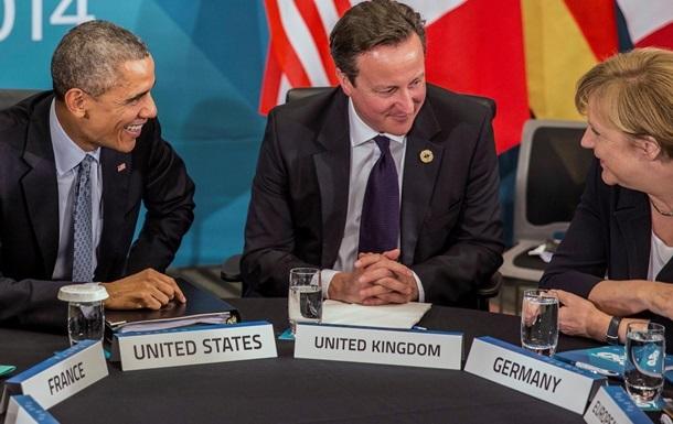 Обама і лідери європейських країн завершили відеоконференцію