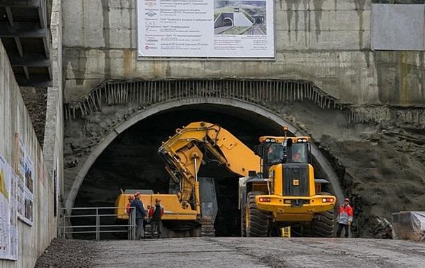 Проложено уже более половины тоннеля, который соединит Украину и ЕС