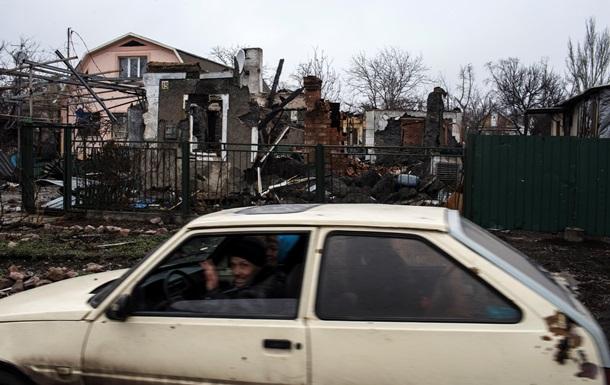 Восток Украины: руины городов и разрушенные жизни - репортаж