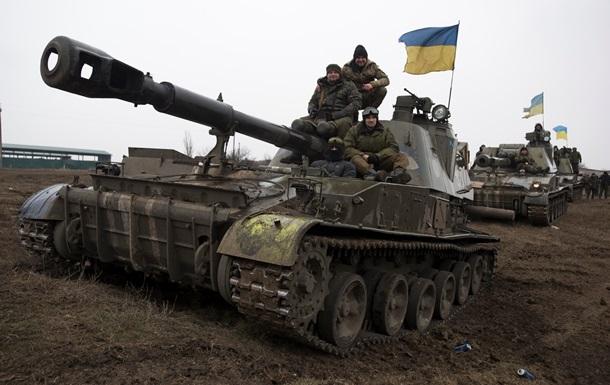 Бойцы АТО поздравили украинок с 8 Марта