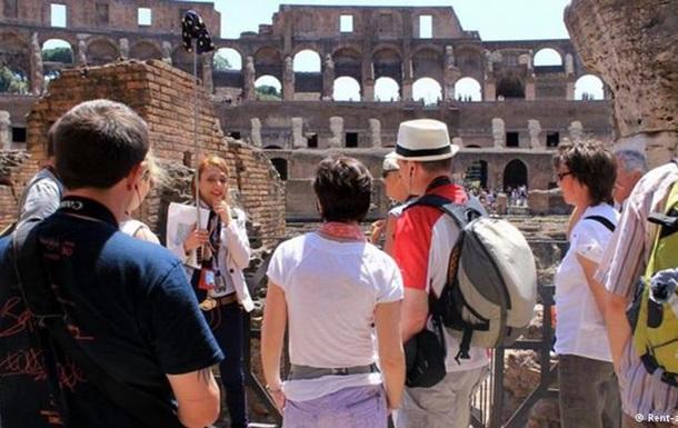 Американских туристок арестовали в Риме за вандализм