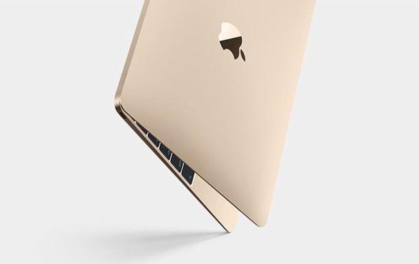 Теперь в золотом: Apple представила новое поколение ультралегких MacBook
