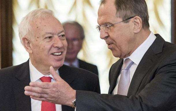 Лавров предложил Европе ввести санкции против Украины