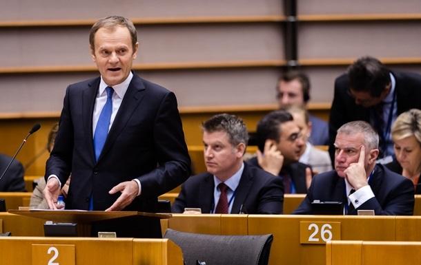 ЕС примет решение по санкциям против России в июне – Туск