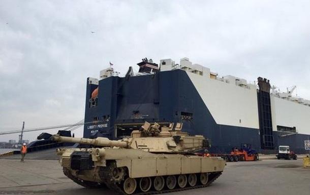 США отправят в Эстонию танки и десантников