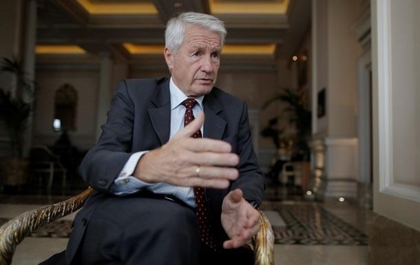 Україну відвідає глава Ради Європи Ягланд