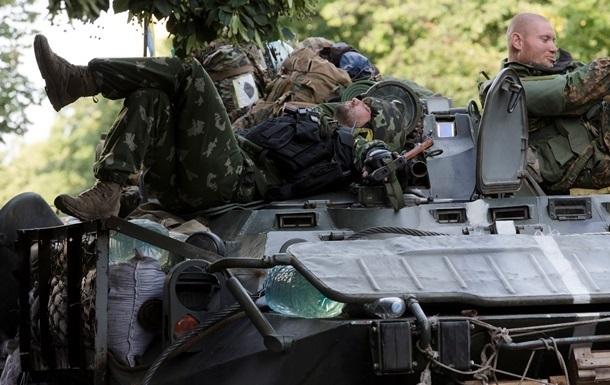 Военных в зоне АТО будут штрафовать за употребление алкоголя
