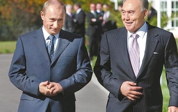 17 марта Владимир Путин, в Кокчетаве встречается с Нурсултаном Назарбаевым