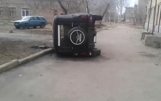 В Константиновке ночью сожгли несколько автомобилей
