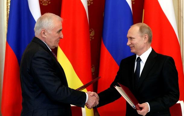 Путін уклав з Південною Осетією договір про союзництво