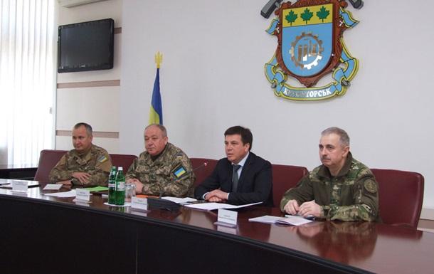 Укрепления на востоке Украины построят в мае