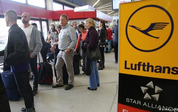 Забастовка пилотов Lufthansa привела к отмене 790 рейсов