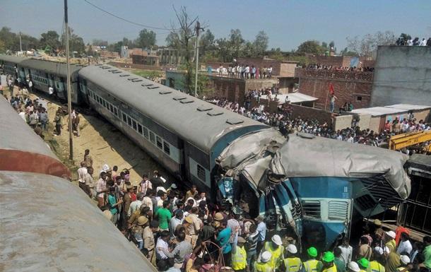 В Индии с рельсов сошел поезд: 30 погибших, 100 раненых