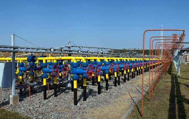 Украина сократила отбор газа из подземных хранилищ