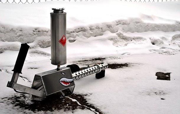 В США создали огнемет для домашнего использования