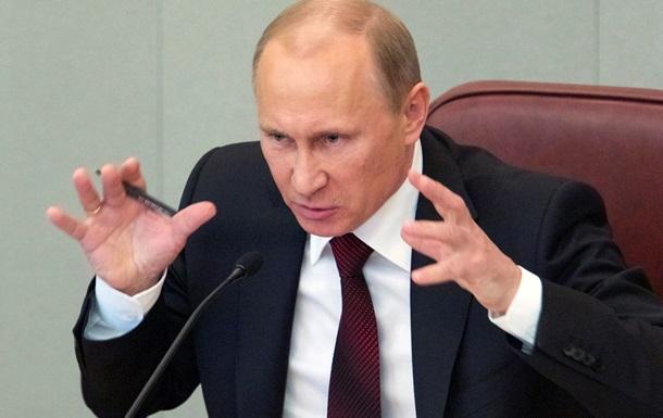 Путін: На заклики до масових заворушень треба реагувати жорстко