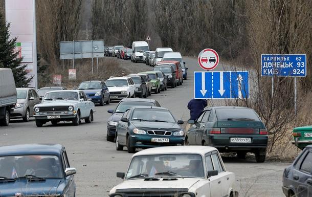 В СБУ не смогли запустить систему электронных пропусков на Донбасс