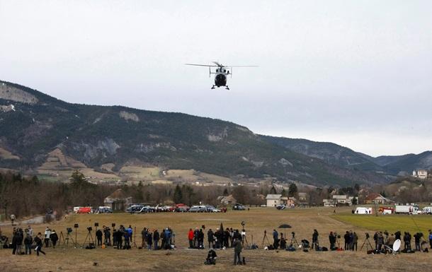 Опубліковано національний склад пасажирів літака, що розбився в Альпах