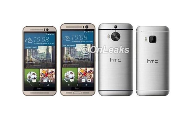 HTC One M9 Plus: в сеть попали фото флагмана с дактилоскопическим сканером