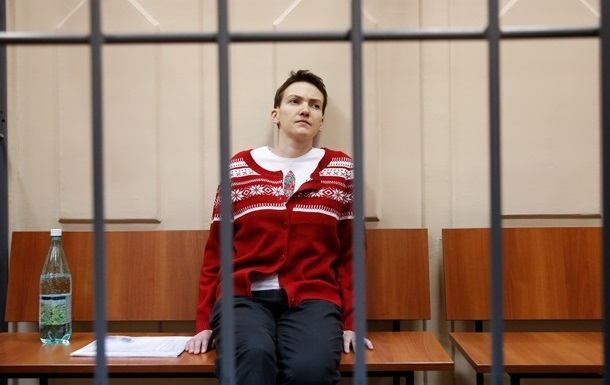 Савченко вимагає не проводити судові засідання без її участі