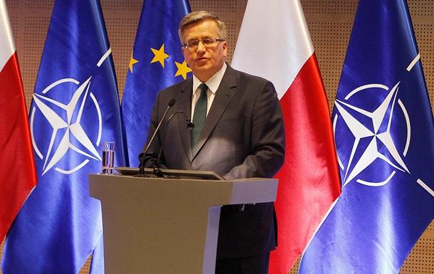 Ресторан в Варшаве отказался принять польского президента