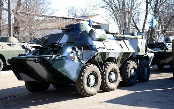 Армії передали перші бронеавтомобілі Світязь