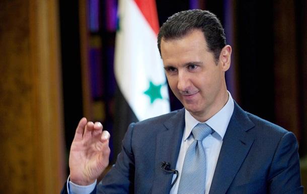 Асад: В Україні та Сирії Захід діє за схожим сценарієм