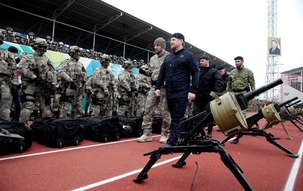 Чечня будет добиваться права на поставку оружия в страны бывшего СССР