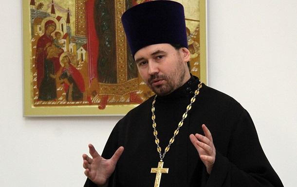 У Росії заборонили служіння священнику, який закликав до війни на Донбасі