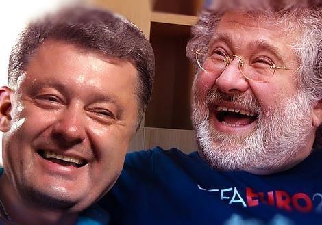 Порошенко VS Коломойский: спор славян между собою