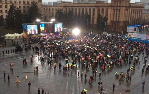 КНДР не будет: на итоги митинга в Днепропетровске
